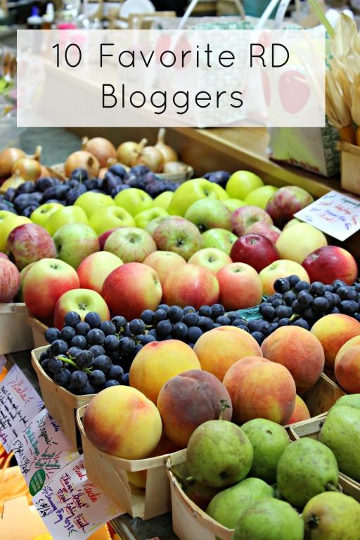 10 Favorite RD Blogs