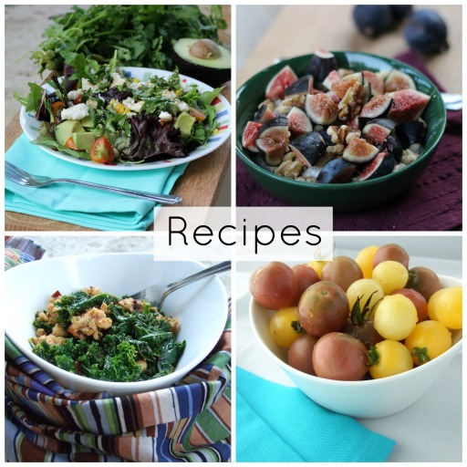 Recipe Page Collage