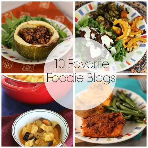 10 Foodie Blogs