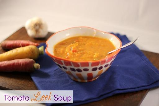 Tomato Leek Soup